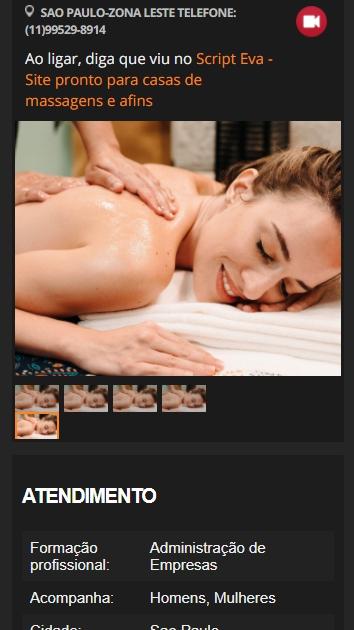 criando um site para massagistas e massoterapeutas